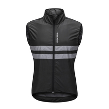 Buy WOSAWE Cycling Vest Sleeveless Windproof MTB Bike Shirts Bicycle Jerseys Men's Reflective Sports Running Fitness Wind Coat for $17.56 in AliExpress store