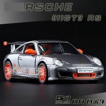 1:36 New Original 911GT3 RS Model Alloy Sports Car Model High Simulation Exquisite Baby Toys Decoration Excellent Gifts