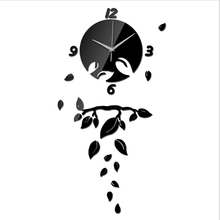 2017 limited special stickers offer quartz sale home decor needle modern acrylic mirror 3d wall clocks clock sticker diy