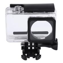 Buy Waterproof Action Camera Housing Case Underwater Diving Camera Shell Cases Cover Box Xiaomi Yi Action Camera for $9.22 in AliExpress store
