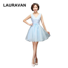 girls embellished cute puffy short vintage tulle light sky blue dress party  bridesmaid dresses modest cute tanks for juniors 6b2ead745cb9