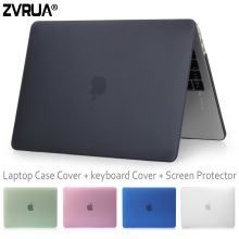 ZVRUA Beautiful Laptop Case For NEW MacBook Pro 13 15 inch with Touch Bar Oct 2016 Release +keyboard cover +Screen Protector