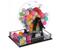entertainment Lottery ball Pick machine for promotional activities lottery machine manual ERNIE machine game ball