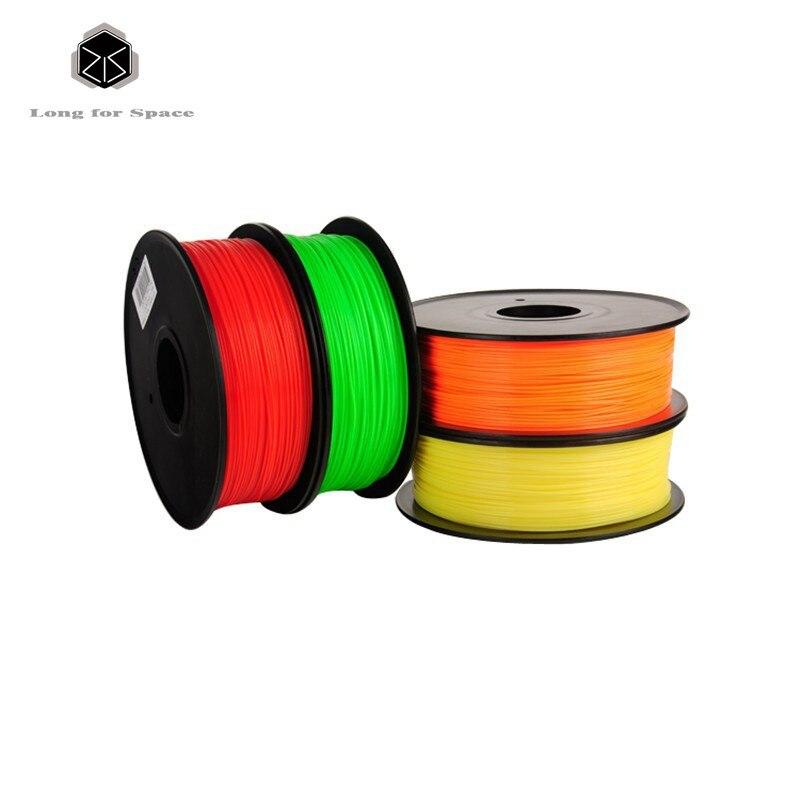 High Quality 20 Colours 3D Printer Filaments plastic 1.75/3mm ABS / PLA Optional 1kg/spool for MakerBot/RepRap/Createbot<br><br>Aliexpress