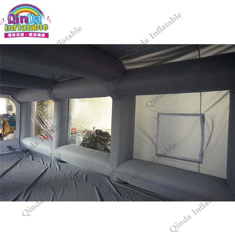 inflatable spray booth paint tent65