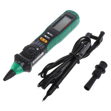 Digital Multimeter Pen-Type With Test Leads AC DC Volt Amp with Resistance Ohm Multi Tester Diagnostic-Tool MS8211D New 2017(China)