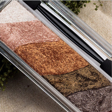 6 Colors Brand Glitter Nude Eyeshadow Palette Makeup Highlighter Eye Shadow Palette Pigment Baked Powder With Mirror & Brush