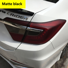 30cm x 200cm Auto Car Light Headlight Taillight Tint Vinyl Film Sticker Easy To Stick The Whole Car Styling(China)