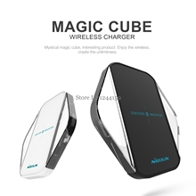 Nillkin Magic Cube Qi Wireless Charger Charging Pad wireless charger for SAMSUNG GALAXY S8 Plus S6 Edge Plus S7 S7 Edge Note 5