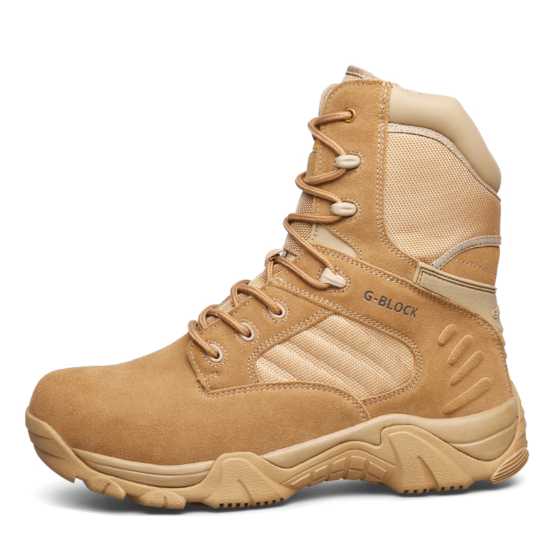 Size 40-46 High Top Waterproof Outdoor Shoes Men Hiking Shoes Combat Military Tactical Boots Trekking Boots Sport Sneakers<br><br>Aliexpress