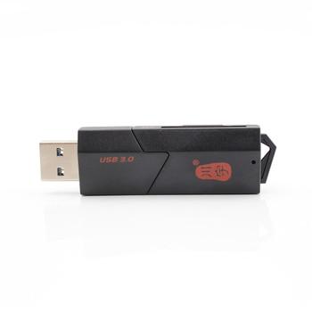 Usb 3.0 adaptador de tarjeta sd micro tarjeta de memoria lector de alta velocidad de calidad 2 en 1 de memoria lector de tarjetas