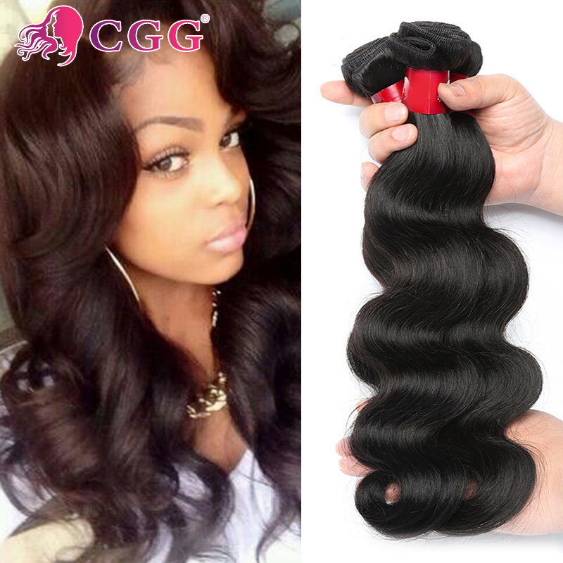 CGG Human Hair Brazilian Body Wave Virgin Hair 3 Bundles 7A Raw Virgin Brazilian Body Wave Hair Wet and Wavy No Chemical Process<br><br>Aliexpress