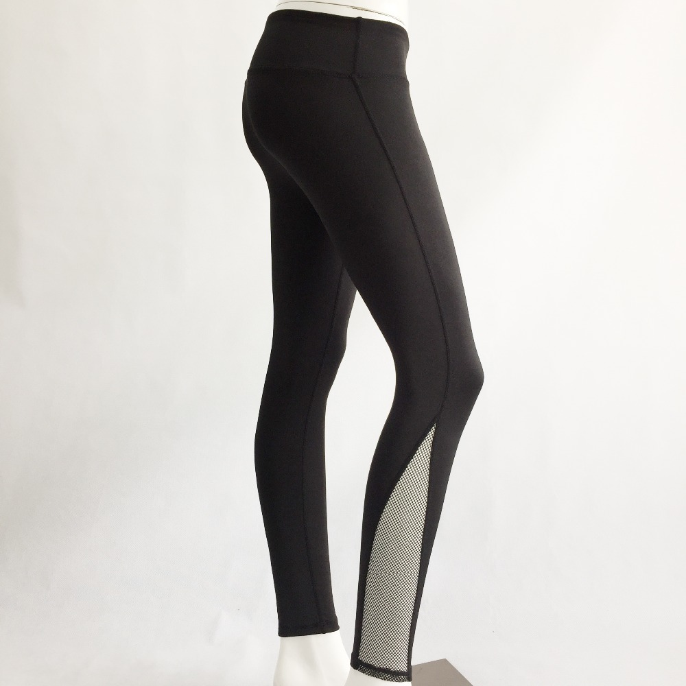 New Women Push-up Sporting Leggings Black Fashion Net Hollow Elastic Skinny Fitness Leggings Sporting Clothing For Women 10