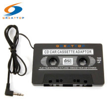 3.5mm AUX Input Car Cassette Tape Adapter Convertor Audio Cable Transmitters For Music IPhone MP3 IPOD dvd CD Andriod Player(China)