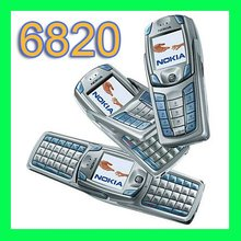 Original Refurbished Nokia 6820 Cell Phone Unlocked GSM 900/1800/1900 QWERTY Keyboard Only English and French language(China)