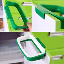 Eco-Friendly Garbage Bag Stand Litter Holder Waste Bin Bucket Dustbin Novelty Back Style Hook Type Trash Storage Rack Shelf 2017