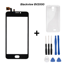 Blackview BV2000 touch screen TP  Original Digitizer glass panel Assembly Replacement For BV2000 Cell Phone+Tools+Silicon Caes