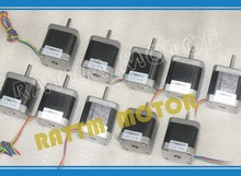 2015 Direct Selling Hybrid 2 Ce Iso Rohs New Products!!! 10pcs Nema17 Stepper Motor 0.9 Deg /48mm/ 78 Oz-in / 1.8a Cnc Stepping(China)