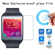 Hight Quality Nano Explosion-proof Soft glass Protective Film for Samsung Galaxy Gear 2 Neo/R381 Screen Protector(China)