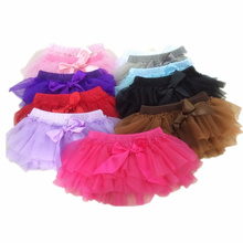 Baby Cotton Chiffon Ruffle Bloomers Cute Baby Diaper Cover Newborn Flower Shorts Toddler Fashion Summer Clothing Pants 2017(China)