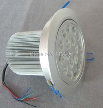 24v 18x1w high power led downlight led 18w recessed down lights for home decoration indoor lighting aluminum