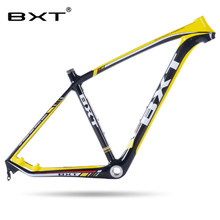 2017 new T800 cheap carbon mtb frame 29er super light full carbon mountain bike frame 31.6mm seatpost bicycle frame 29 thru axle(China)