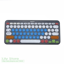For Logitech K380 Silicone Keyboard Cover Protector skin Waterproof Desktop computer kyeboard protective film