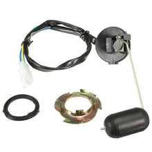 Motorcycle Fuel Petrol Level Sender Unit Float Sensor Kit For 125-150cc GY6 Scooters Vehicles