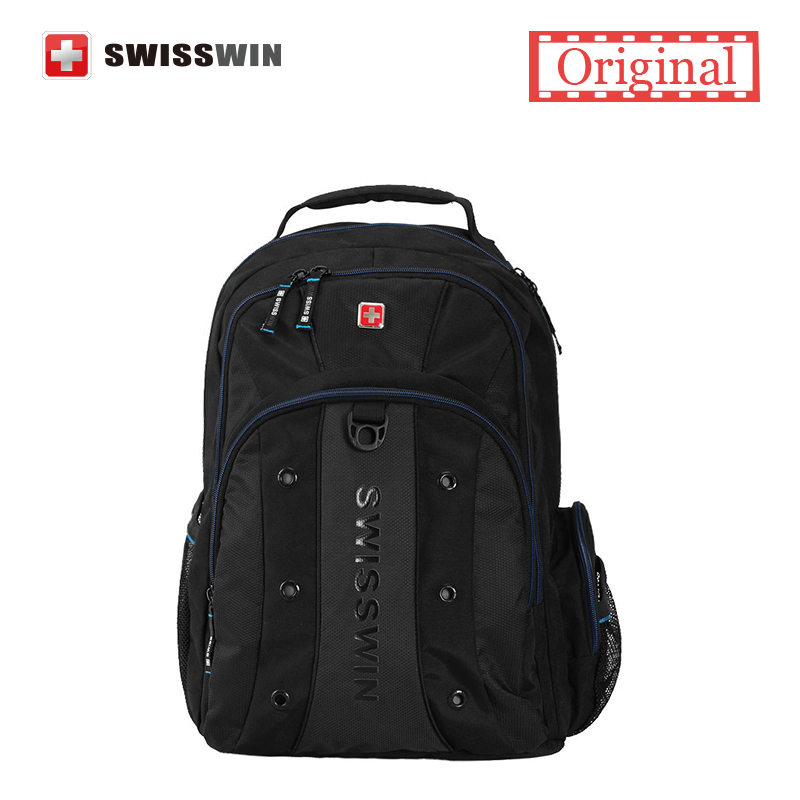Hot Swiss Army Fashional Cheap Teens School Backpacks For boys and girls Multifunctional Waterproof 12-15 Inch Laptop Backpack<br>