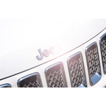 Car Styling Chrome Emblem Badge Decal Body Sticker for JEEP ZJ Wrangler Compass Commander Grand Cherokee Comanche accessories