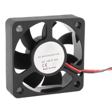 PROMOTION! 50mm 12V 2Pin 4000RPM Sleeve Bearing PC Case CPU Cooler Cooling Fan(China)