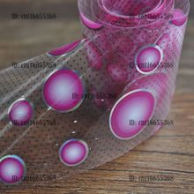 Nail Art Wholesaler Easy DIY Nail art Product Nail Glue Transfer Foil Purple White Mix Size Round Dot YC426