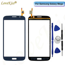 Front Panel For Samsung Galaxy Mega 5.8 i9150 i9152 GT-i9150 GT-i9152 Touch Screen Sensor LCD Display Digitizer Glass TP Replair(China)