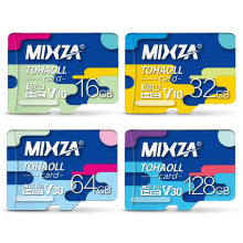 MIXZA Micro SD Carte 256 gb 128 gb 64 gb U3 80 mb/s 32 gb 16 gb Class10 UHS-1 Mémoire carte Mémoire Flash Microsd TF/SD Cartes(China)