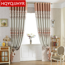 6 kinds of modern simple printing Blackout curtains for Living Room sheer Curtains for Kitchen Window Curtain Bedroom /Hotel(China)