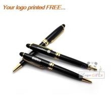 Hot selling quality 30g metal pen special for boss gifts teacher gifts and clients gifts create your own logo free