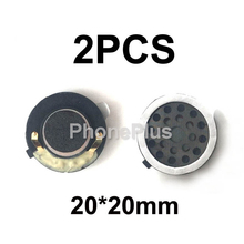 2PCS 20*20mm Original For China Cell Phone BV6000 BV6000S Loud Speaker Voice Buzzer Ringer Three anti-cell phone