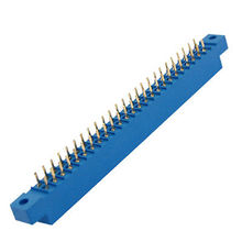 805 Series 3.96mm Pitch 50 Pin Slot Solder Socket Card Edge Connector