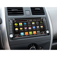 2 Din Android 6.0 Car DVD Player GPS+Wifi+Bluetooth+Radio+Quad CPU+DDR3+Capacitive Touch Screen+3G+Car PC+Audio Mirror USB SD(China)