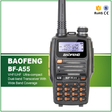 Free Shipping Hot Sell New Arrival Baofeng A55 Walkie Talkie 5W 128CHS Ham Two Way Radio Free Headset