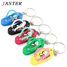 JASTER Slippers Pen Drive Cartoon hello kitty gift 4GB 8GB 16GB 32GB tom cat Usb Flash Drive Pendrive Free Shipping