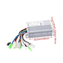 OOTDTY Aluminium 36V/48V 350W Electric Bicycle E-bike Scooter Brushless DC Motor Controller(China)