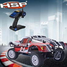 HSP 94155 Rc Car 1/10 Scale 2.4GHz RTR 18cxp Nitro / Gas 4WD Radio High Speed Remote Control Car Short Course Truck Kid Toys(China)