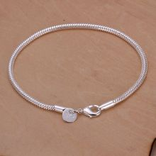 Free shipping 925 jewelry silver plated jewelry bracelet fine fashion bracelet wholesale and retail SMTH187