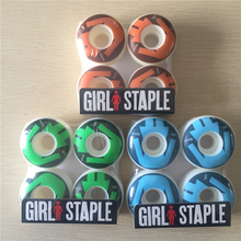 Quality 101A skateboard wheels Size 52mm -55mm hardness101A Brand skate wheels for double rocker and professional Skater(China)