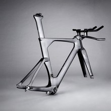 Full Carbon TT Bike Frame Time Trial Bike Triathlon Bicycle Frameset UAM Official Store Cycling Sporting Goods FM109(China)