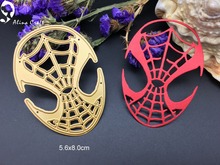 Metal cutting dies  spider mask Easter egg  Scrapbook card paper craft home decoration embossing stencils cutter