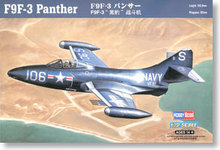 Hobby Boss 1/72 scale helicopter model aircraft 87250 F9F-3 Panthers carrier-based fighter(China)