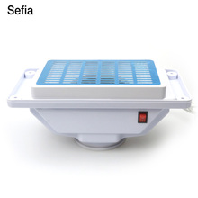 Sefia Nail Dust Collector Machine For Nail Art Manicure Dust Collector With 3 Fans+3 Bags Electric Suction Dust Collector Tools(China)