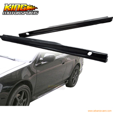 For  98-02 Honda Accord 2Dr Coupe Poly Urethane Side Skirt Add-On Bodkit Part